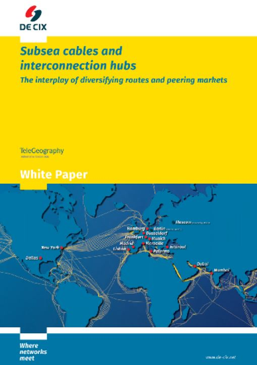 Subsea cables and interconnection hubs - The interplay of